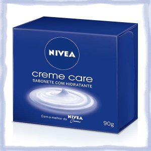Sabonete Nivea Creme Care c/ Hidratante 90grs