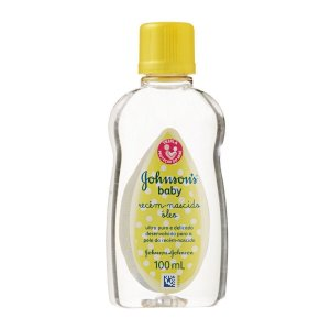 Oleo Johnsons Baby Recem Nascido 100ml