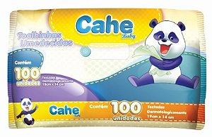 Toalha Umedecida Cahe Baby c/ 100un