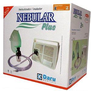 Nebular Plus Inalador e Nebulizador Bivolt - Daru Medicals
