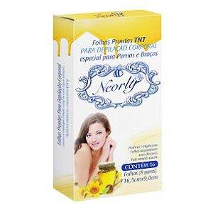 Neorly Folhas Prontas Para Depilção Facial TNT c/6 Pares