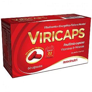 VIRICAPS VITALIZANTE E ENERGÉTICO 60CAPS