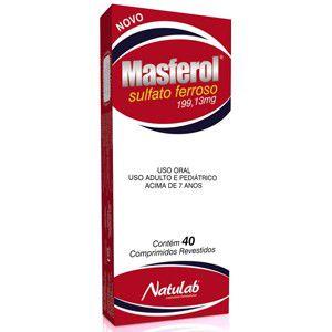 MASFEROL (sulfato ferroso) 40 COMP