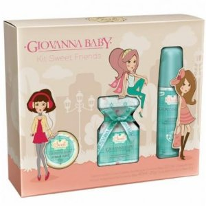 Kit Giovanna Baby Colonia 20ml + Des. 40ml + Lip Balm 6gr