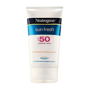 Bloqueador Solar Neutrogena Sun Fresh FPS 50 200ml