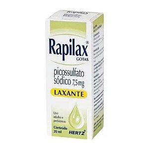 Picossulfato de Sódio - RAPILAX GOTAS 20ML Hertz