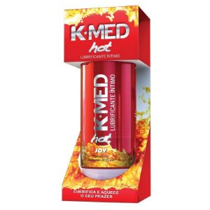 Lubrificante K-MED GEL INTIMO HOT 200ml