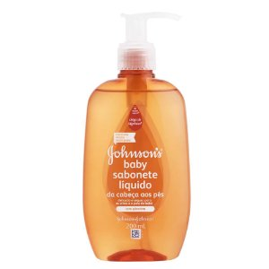Sabonete Liquido Johnson Baby da Cabeça aos Pés 200ml