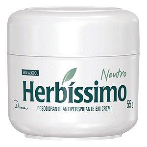 Desodorante Creme Herbissimo Neutro 55GR