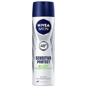 Desodorante Nivea Aerosol Men 150ml Sensitive Protect