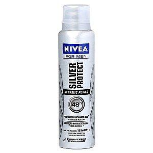 Desodorante Nivea Aerosol 150ml Men Silver Protect