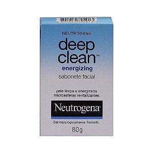Neutrogena Deep Clean Sabonete Facial 80gr Energiizing