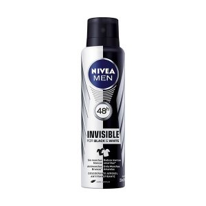 Desodorante Nivea Aerosol 150ml Men Black White Invisible