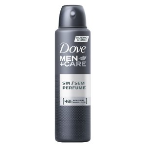 Desodorante Dove Aerosol Men 150ml Sem Perfume