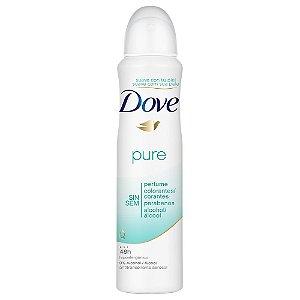 Desodorante Dove Aerosol Pure Fem 100gr