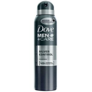 Desodorante Dove  Aerosol Men Silver Control 150ml