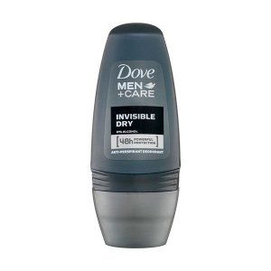 Desodorante Dove Roll on Men 50ml Invisible Dry