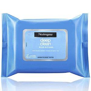 Lenços de Limpeza/Maquiagem  Neutrogena c/25 unidades