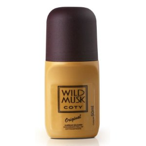 Desodorante WILD MUSK Roll on 50ML