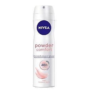 Desodorante Nivea Aerosol 150ml Women Powder Comfort
