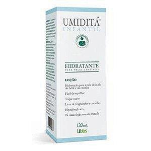 Umiditá Infantil Loção Hidratante Para Pele Sensível 120ml.
