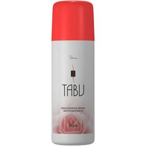 Desodorante Tabu Spray Tradicional  90mL