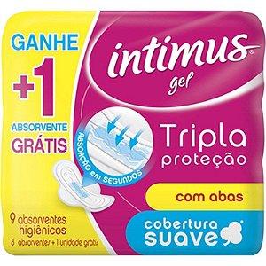 Absorvente Intimus Gel Suave c/Abas L9P8