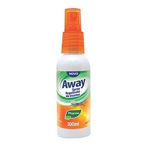 Repelente Spray Away 100ml Pharma
