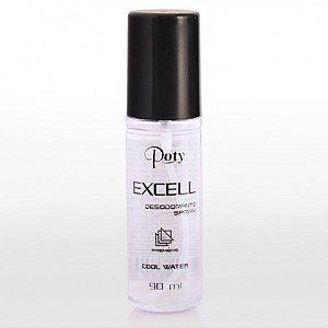 Desodorante Poty Spray Masculino 90mL Excell