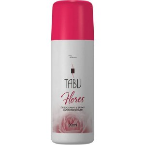 Desodorante Tabu Spray Flores 90ml