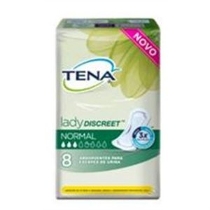 Abs Tena Lady Discreet Normal 8 Unidades