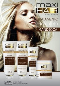 Kit Maxi Hair Mandioca