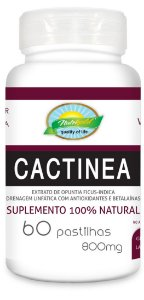 Cactinea 800MG 60 pastilhas - Nutrigold