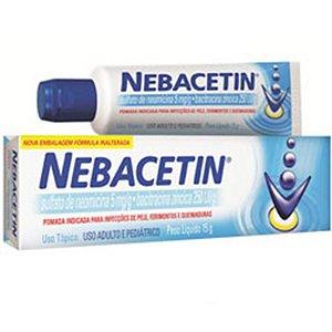 NEOMICINA+BACITRACINA - NEBACETIN 50G