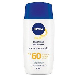 Protetor Solar Nivea Facial Antissinais Base FPS60 50ml