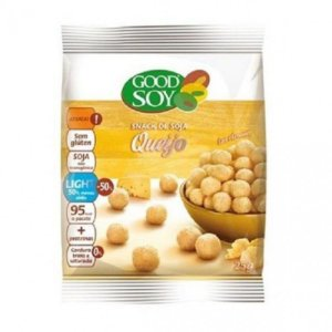 SNACKS DE SOJA QUEIJO 25GR GOOD SOY