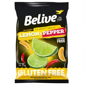 SNACKS LEMON PEPPER S/GLUTEN S/LACTOSE 35G BELIVE