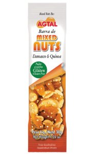 Barra de Cereal Mixed Nuts Damasco 30g