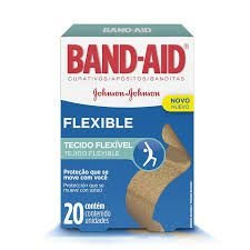 Band Aid FLEXIBLE  C/20 Unidades