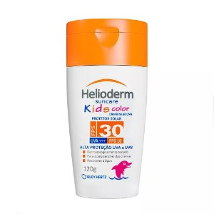 Helioderm Suncare Kids Color FPS 30 120G