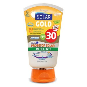 Protetor Solar e Repelente Gold  FPS 30 120ML