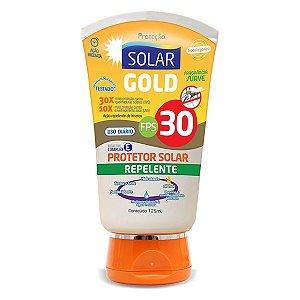 Protetor Solar e Repelente Gold  FPS 30 120ML