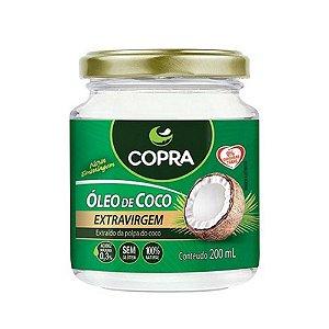 Oleo de Coco Extra Virgem Sem Sabor Copra 200ml