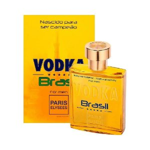 Perfume Vodka Brasil For Men Original Paris Elysees 100ml
