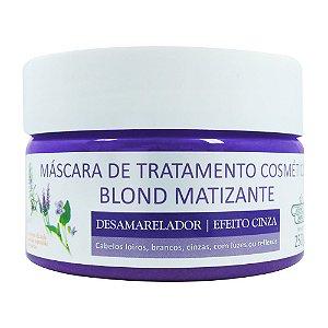 Máscara de Tratamento Flores e Vegetais Blond Matizante 250g