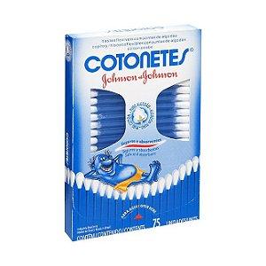 Cotonetes Johnson com 75 unidades