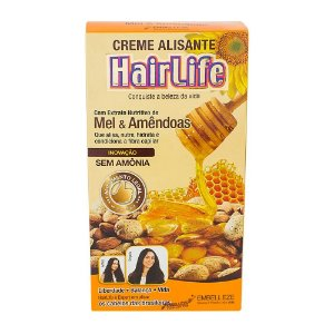 Alisante HairLife 160gr Mel & Amendoas