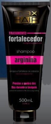 Shampoo Maxi Hair Arginina 500ml