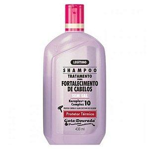 Shampoo Gota Dourada 430mL Protetor Térmico