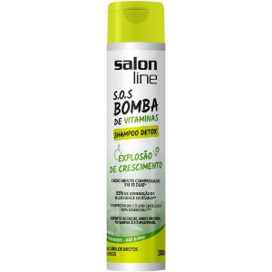 Shampoo Salon Line SOS Bomba 300mL Detox